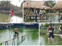Hoi An Coconut Tour – Fishing